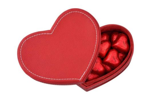 Heart-Shaped Chocolate Box - Courtesy of Patchi